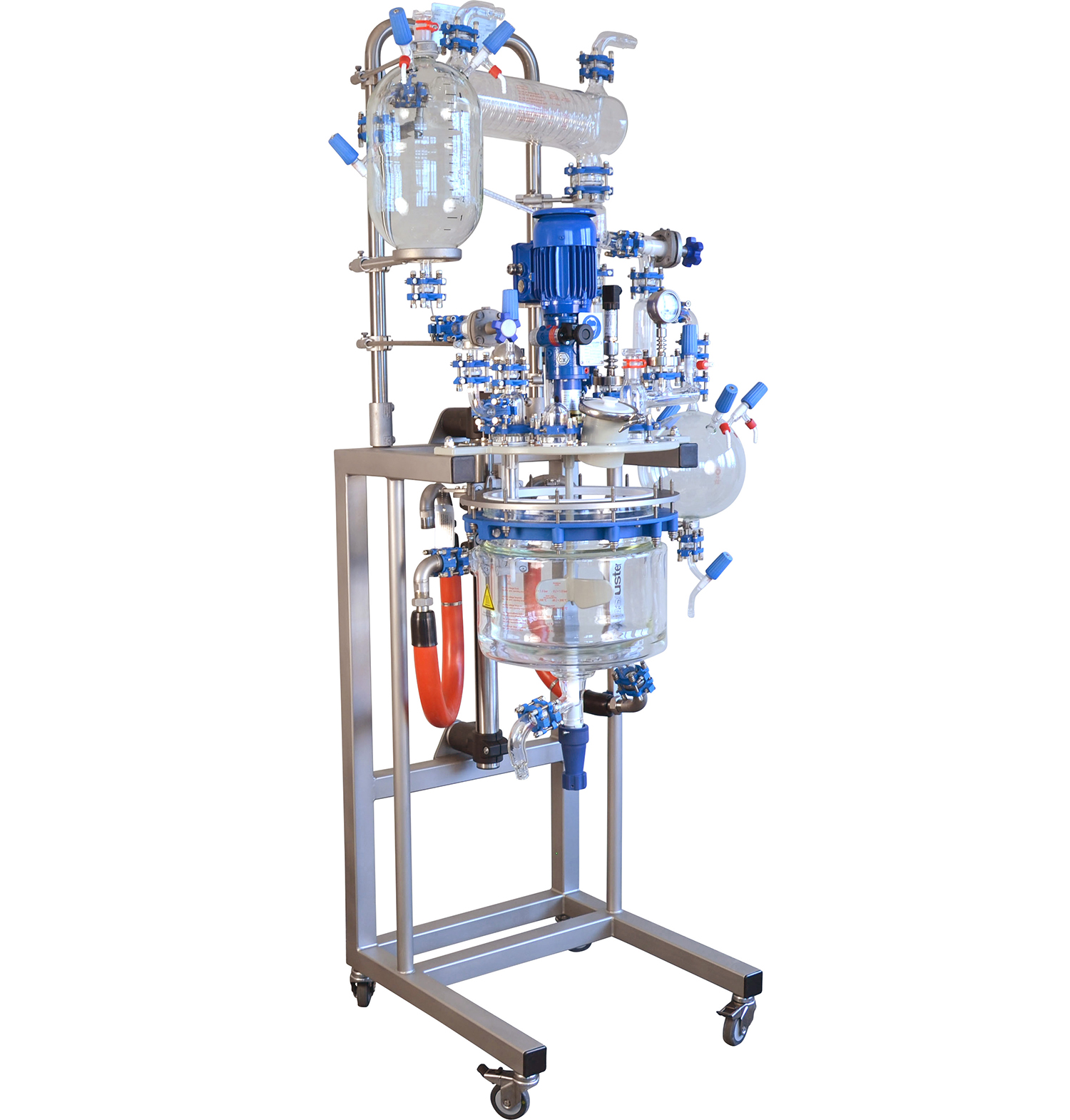 MidiPilot-Mid Scale Glass Jacketed Vessel
