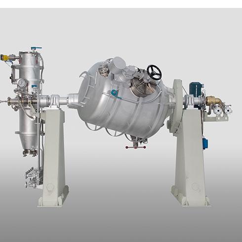 Tumble-Dryer Rotary Cylindrical Vacuum